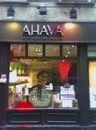 Ahava after last week's paint attack