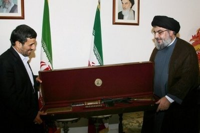Ahmadinejad and Sheikh Nasrallah (Head of Hizbollah)