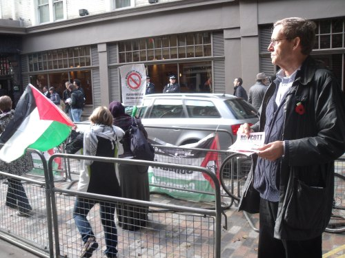 ex-MP and head of Labour Friends of Palestine, Martin Linton.