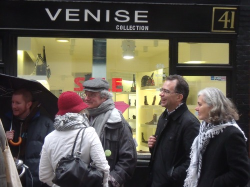 """Why are we boycotting an Italian shoe shop?"""