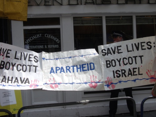 Are these protests really about Ahava?