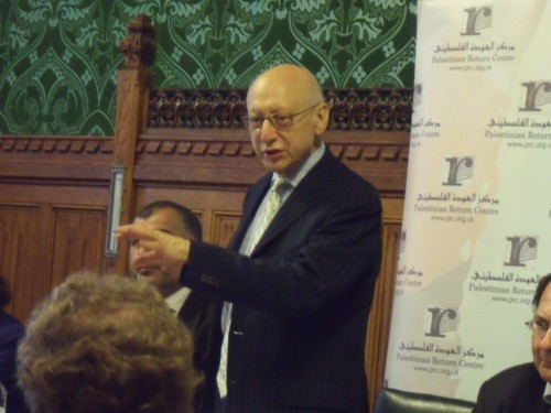 Gerald Kaufman MP who at least stood up for democracy.