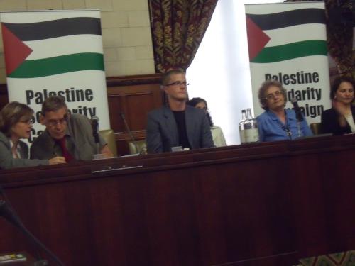 Sarah Colborne (PSC Chief), Martin Linton, Ben White, Diana Neslen last night.