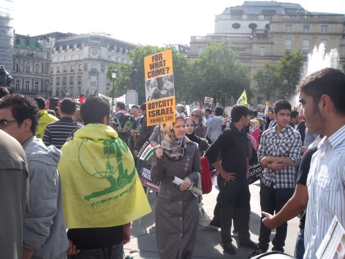 Trafalgar Square, London, 21st August 2011