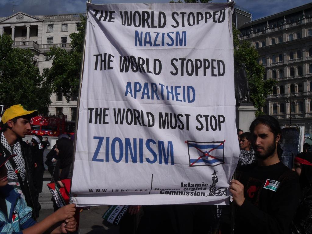 Trafalgar Square, London, 21st August 2011