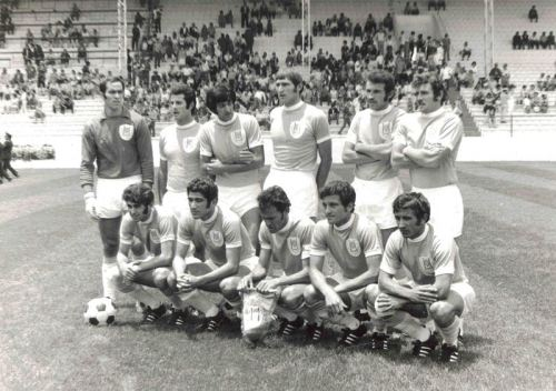 Israel at the 1970 World Cup finals in Mexico.
