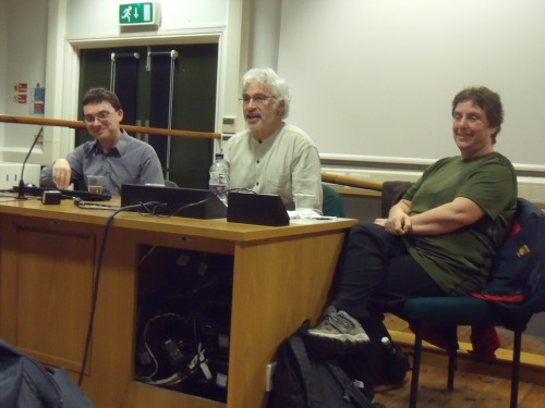 David Landy, Richard Kuper and Naomi Wayne (Chair).