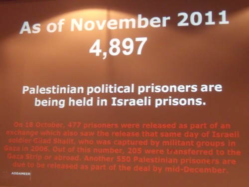"Kill Jews and you're a political prisoner according to ""human rights"" group Addameer."