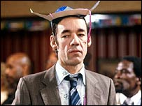 "Roger Lloyd Pack - ""intellect has rapidly diminished over the years until it reached its current level of hilarious stupidity"""