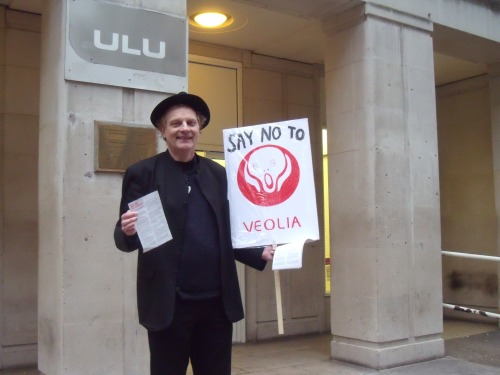 The welcoming party on the door at University of London Union last night.