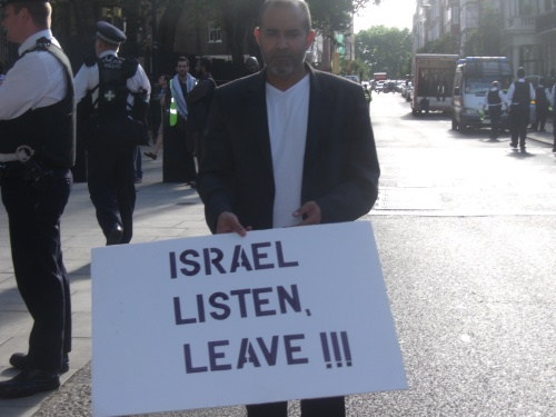 "Al Quds Day London 2012. So much for ""multi-cultural Britain""."