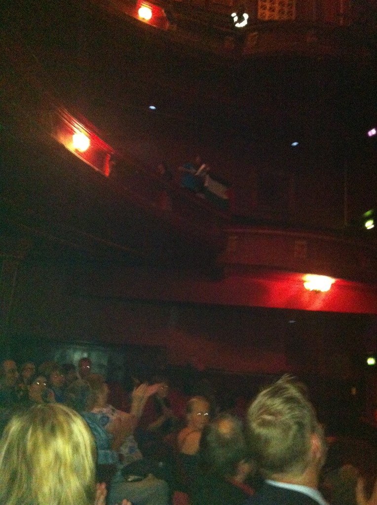 Disruption during Batsheva's Thursday performance at Edinburgh's Playhouse Theatre.
