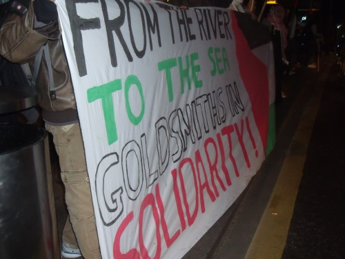 Goldsmiths must be proud of you wanting to destroy Israel.