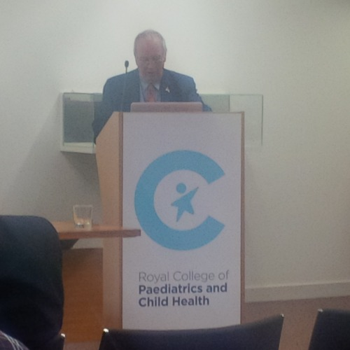 """Sir Iain Chalmers discussing """"Zionist control in so many different domains""""."""