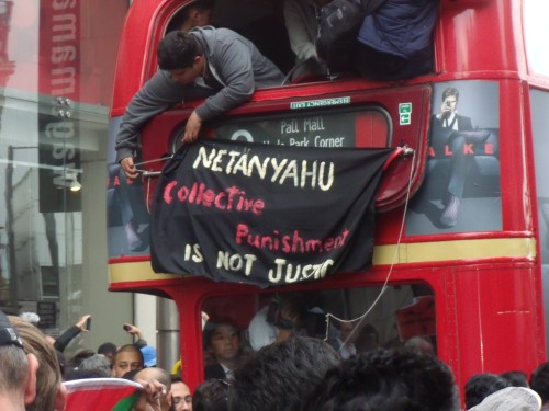 One of our buses gets occupied. Tell Boris!