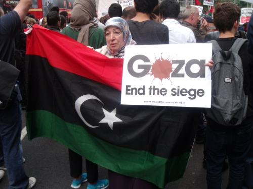 Libyan support despite things not looking too rosy in Libya either.