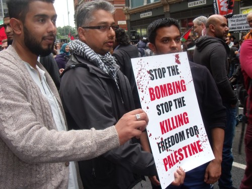 Agreed! Palestinians should be freed from their Hamas oppressors.