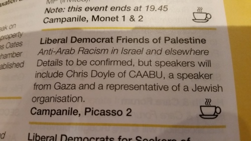 Good Jew urgently needed for Liberal Democrat conference in Glasgow.