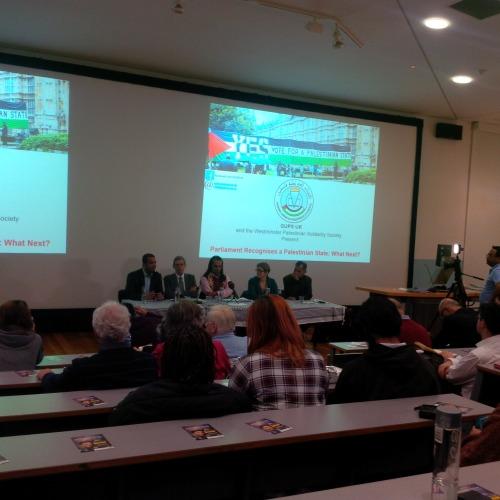 GUPS representative, Martin Linton, Dibyesh Anand, Sarah Apps, Murad Qureshi