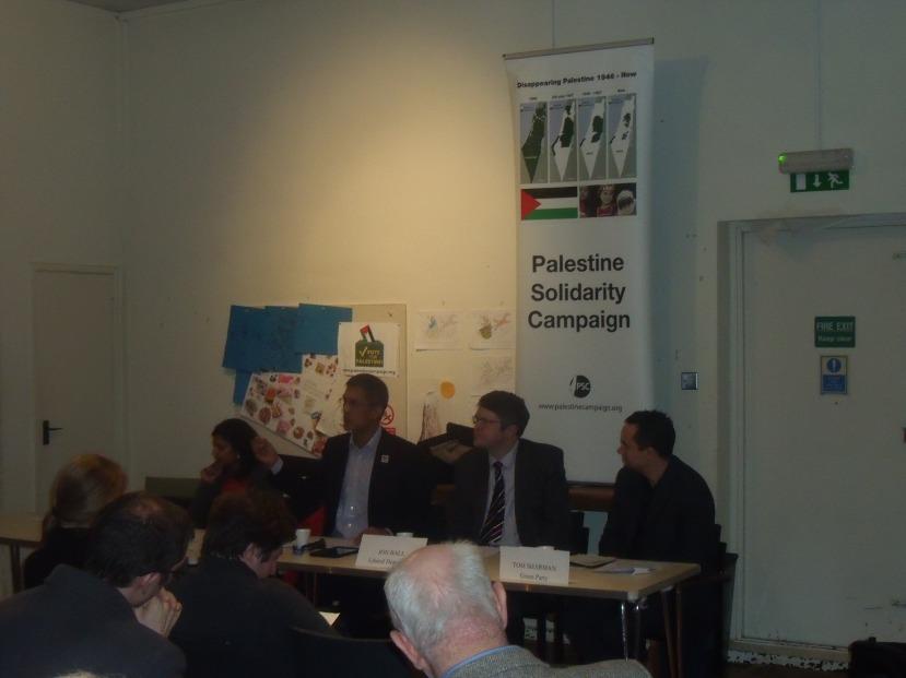 Rupa Huq (Lab.), Salim Alam, Jon Ball (LibDem), Tom Sharman (Green) last night.