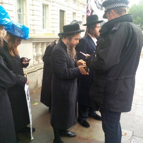Neturei Karta finally being moved on for not following procedure.