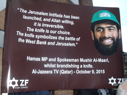 Another ZF banner quoting from the horse's mouth (apologies to horses everywhere).