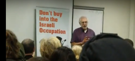 Mike Cushman speaking at University London Union in 2012.